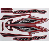 Jogo Adesivo Nx4 Falcon 2013 Vermelho