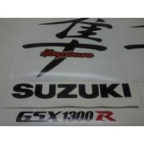 Kit Adesivo Moto Suzuki Hayabusa Carenagem E Rabeta