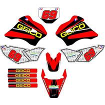 Kit Adesivo Grafico Plotagem Moto Trilha Tornado250 2007 Md5