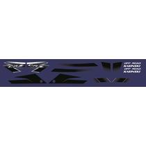 Adesivos Kasinski Crz 150 Off Road Kit Completo Azul