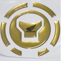 Protetor Adesivo Relevo Bocal Tanque Dou Moto Honda Bros 160