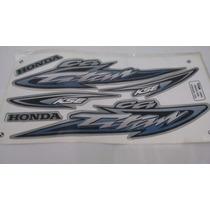 Kit Adesivo Honda Cg 125 Titan Kse 2003 Prata