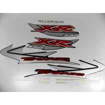 Kit Adesivos Xr 250 Tornado 2005 Preta - Resinado - Decalx