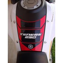 Adesivo Resinado Protetor Tankpad Yamaha Ténéré 250 Vermelho