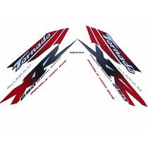 Kit Adesivos Honda Xr 250 Tornado 2001 2002 Branca