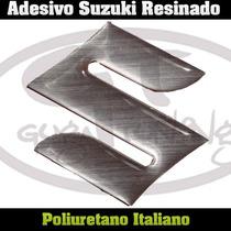 Adesivo Resinado Suzuki 02 Pçs (par) / 4.5 X 4.5cm