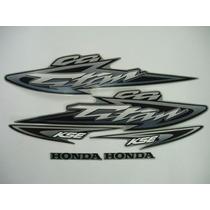 Kit Adesivo Honda Cg 125 Titan Kse 2003 Prata - Frete R$9,90