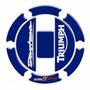 Adesivo Protetor Bocal Moto Fuel Cap Triumph Daytona