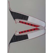 Jogo Adesivo Faixa Xt 660 R 2013 Vermelha