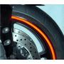 Frisos Adesivos Refletivos Rodas Moto Cb 300 500 + Brindes