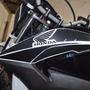 Kit Protetor Adesivo Aba Do Tanque Carbo Moto Honda Bros 160
