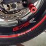 Friso Refletivo Adesivo Roda Intern Moto Triumph Daytona 675