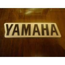 Adesivo Yamaha Rabeta Rd 350 Preto Fundo Transparente