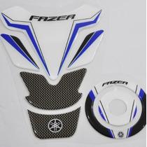 Protetor Tanque Tankpad + Bocal M01 Moto Yamaha Fazer 150