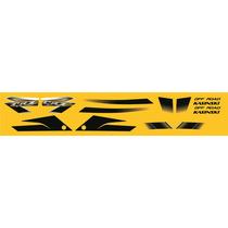 Adesivos Kasinski Crz 150 Off Road Kit Completo Amarelo