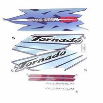 Adesivo Honda Xr250 Tornado 2003 Azul Kit