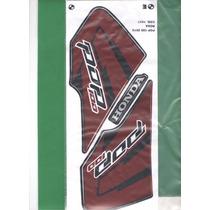 Kit Adesivos Honda Pop 100 2012 Roxa