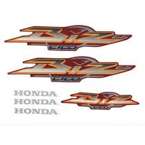 Kit Adesivos Honda Biz C 100 Es 2003 Vermelha