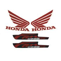 Kit Adesivos Honda Fan Cg 125 Es 2012 Roxa