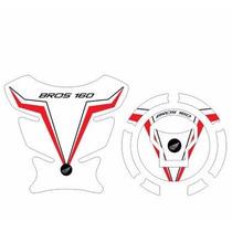 Protetor Tank Pad Top Tanque Bocal Moto Honda Bros 160 M01