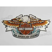 Adesivo Harley Davidson An American Legend Resinado Decalx