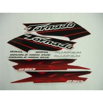 Conjunto Adesivos Tornado 2003 Vermelha, Pronta Entrega !