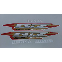 Kit Adesivos Honda Biz 125 Es 2006 Vermelha