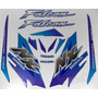 Kit Adesivos Falcon Nx4 2000 Azul - Resinado - Decalx