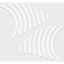 Kit Protetor Central Lat Tanque Transparente Filetes Hornet