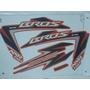 Kit Adesivos Honda Nxr 150 Bros Es 2012 Laranja
