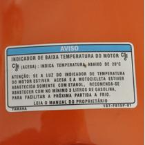 Adesivo Aviso Tanque 1st-fb16p-01 Moto Yamaha Fazer 150