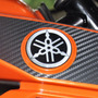 Adesivo Resin Logo Tanque Moto Yamaha Fazer 150 Frete Grátis