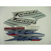 Conjunto Adesivos Tornado 2003 Azul, Pronta Entrega !