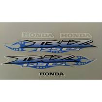 Kit Adesivos Honda Biz 125 Es 2007 Prata