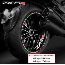 Friso Refletivo Kawasaki Zx-6r 636 Zx6r + Adesivo Inter. Top