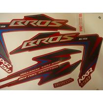 Adesivo Nxr 150 Bros Es 12 Vermelha, Envio Grátis, Quali 3m
