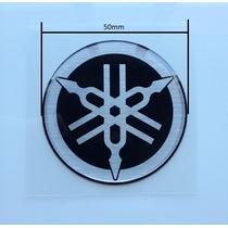 Adesivo Logo Original Emblema Diapasão Yamaha 50mm Xj6
