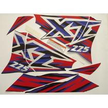 Kit Adesivos Xt225 1997 Preta, Frete Grátis !