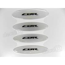 Adesivos Capacete Honda Cbr Resinados Refletivo 2,4x10 Cms