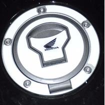 Protetor Adesivo Relevo Bocal Tanque Bra Moto Honda Bros 160