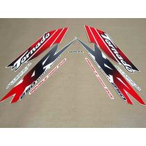 Kit Jogo Adesivos Completo Xr 250 Tornado 2001 2002 Branco
