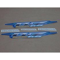 Kit Jogo Adesivo Honda Biz 125 Ks 2006 Azul Frete R$9,90