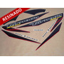 Kit Adesivos Xr 250 Tornado 2007 Vermelha - Resinado- Decalx