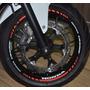 Friso Refletivo Adesivo Roda Interno Moto Honda Cb 500 F M2