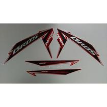 Kit Adesivos Honda Nxr 150 Bros Esd Mix 2010 Vermelha