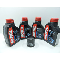 Kit Troca De Oleo E Filtro Fram Z-750 (motul3000 20w-50)