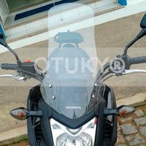 Bolha Otuky 3mm Moto Nc 700x 750x Alongada +15cm Mais Cores
