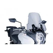 Parabrisa Para Moto Kawasaki Versys 1000 Fume Garantia