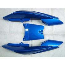 Kit Carenagem Rabeta Yamaha Factor Ybr 125 Azul 2013/14
