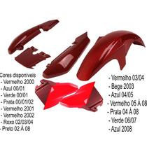 Kit Carenagem Para Ybr 125 De 02 Até 08 Todas As Cores